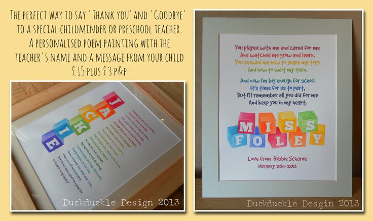 Thank you/Goodbye Teacher gift | Teacher Gift Ideas | Pinterest ...