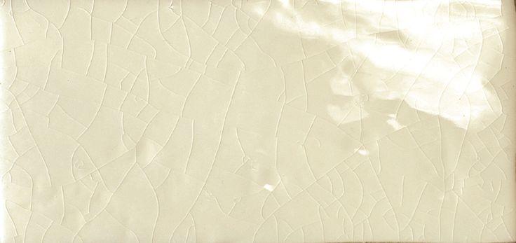 "$35.50/sq ft Cape Cod 3"" x 6"" Double Fire Glazed Ceramic Wall Tile in Artisan Cream Crackle | Wayfair"