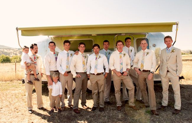 groom & groomsmen attire #wedding