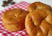Fat-free Vegan Apple Banana Muffins