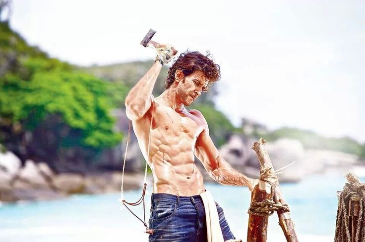 Hrithik roshan have fit body ;)