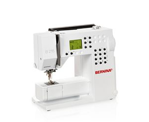 The BERNINA 215 provides you with everything you need for a good start in creative sewing, and can be upgraded as your own ambitions grow.