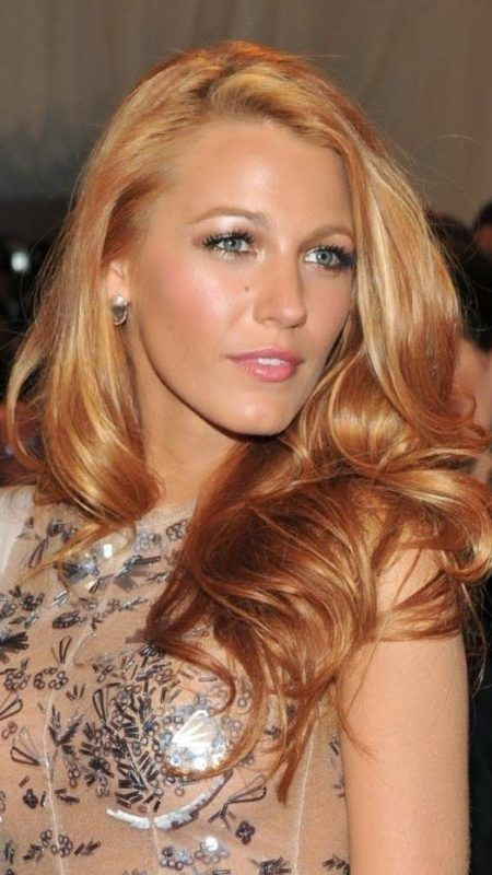 Medium Skin with Strawberry Blonde Hair Color 2017