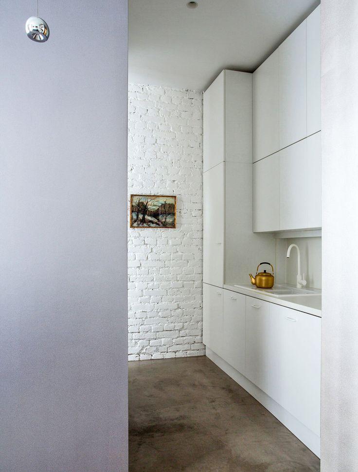 Küche In Mini Apartment In Frankfurt