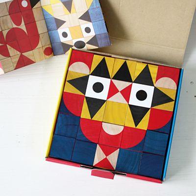 miller goodman 木製キューブブロック ShapeMaker - 大人かわいい雑貨のセレクトショップ「マッシュノート」