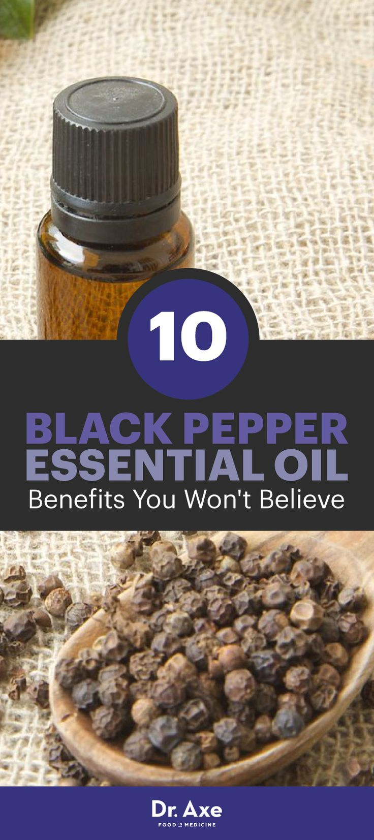 Black pepper essential oils benefits include relieving aches and pains, lowering cholesterol, detoxing the body and enhancing circulation, among many more.