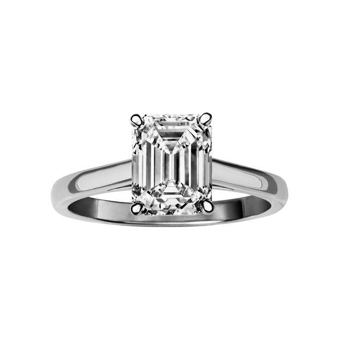 emerald cut engagement rings de beers platinum price