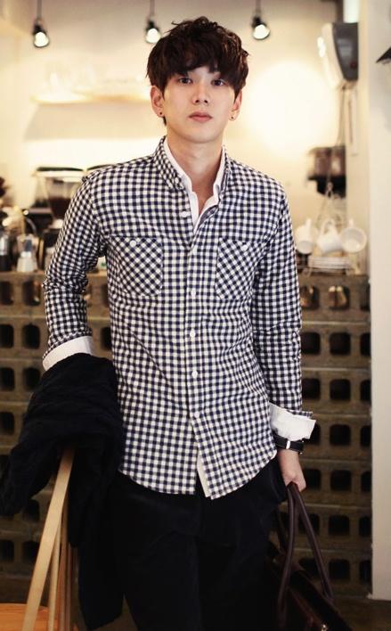 Double Shirt Korean Mens Fashion Simple Style Cool Pinterest