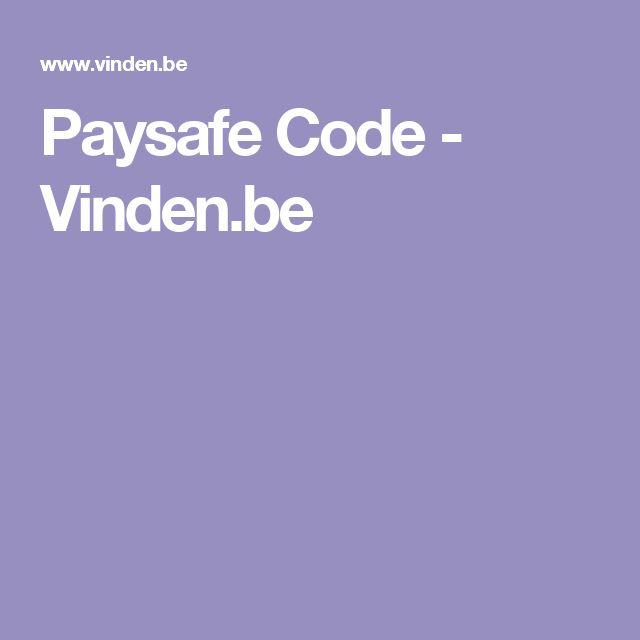 Paysafe Code - Vinden.be