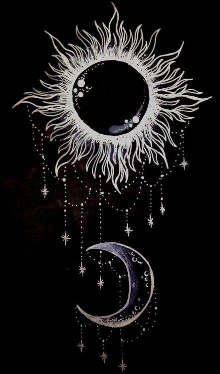 Night Sun and Moon. ⭐️⭐️⭐️