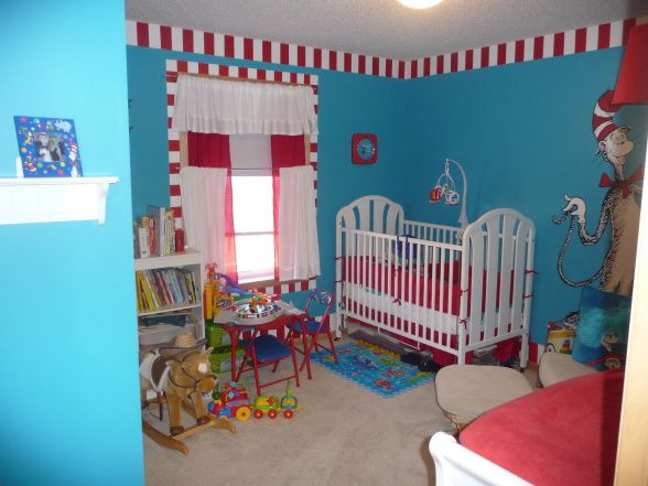 The Cat in the Hat Nursery. 11 best cat in the hat images on Pinterest   Nursery ideas  3rd