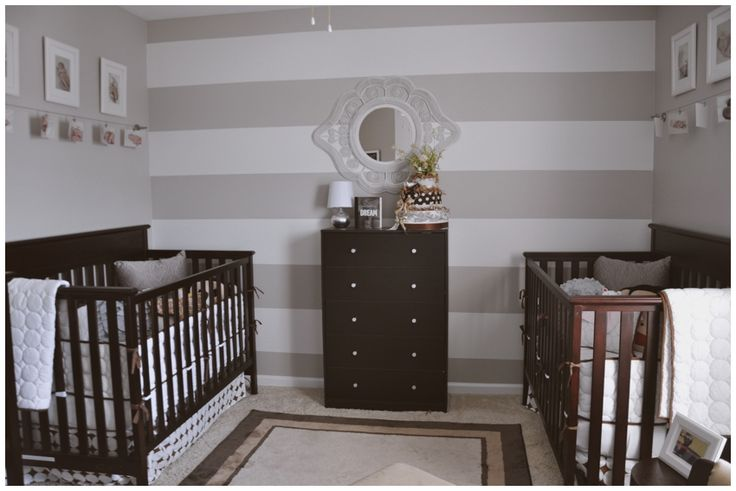 The Twin's Nursery » House of Hicks Tons of elements I just might use for our twin nursery