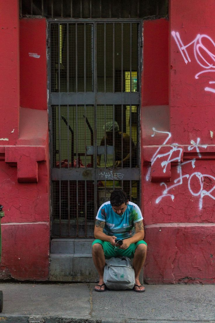"""Los Magníficos - De la serie """"Santiago y su gente""""  Barrio brasil, Los Magníficos  Santiago, Chile. Enero 2017"""