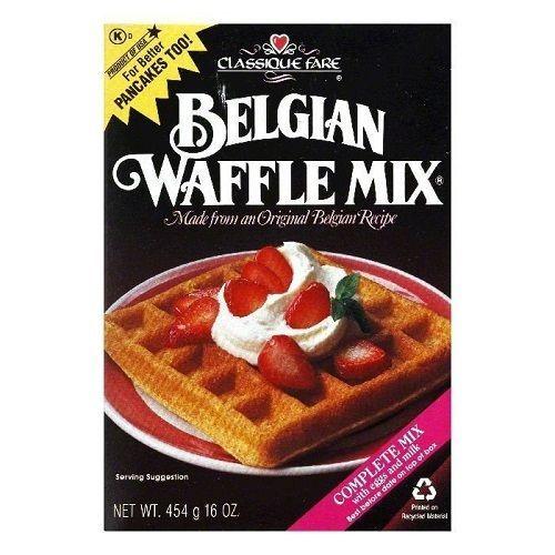 Classique Fare Belgian Waffle Mix (6x16 OZ)