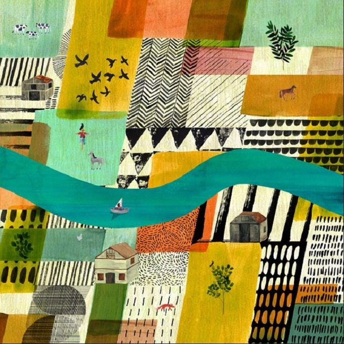 Marc Martin's Detailed and Poetic Landscape Illustrations