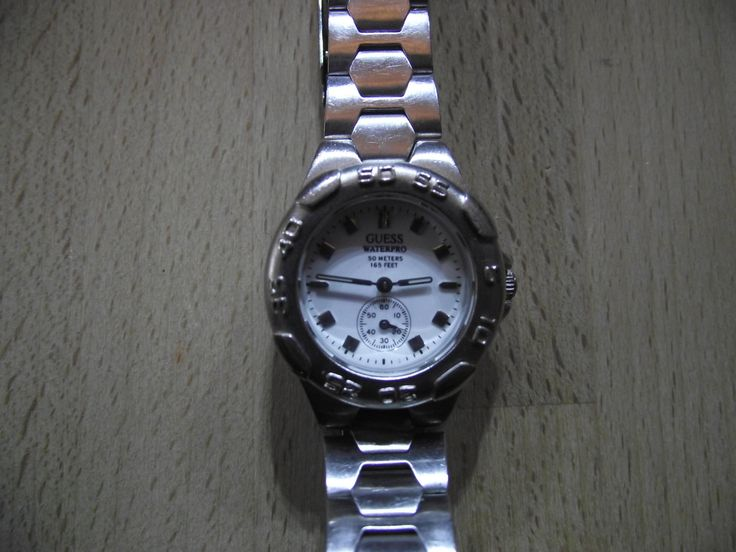 GUESS  WATERPRO - 50M Water Resistant - Retro Guaranteed Genuine, rare ladies quartz wristwatch by EWcoLondon on Etsy