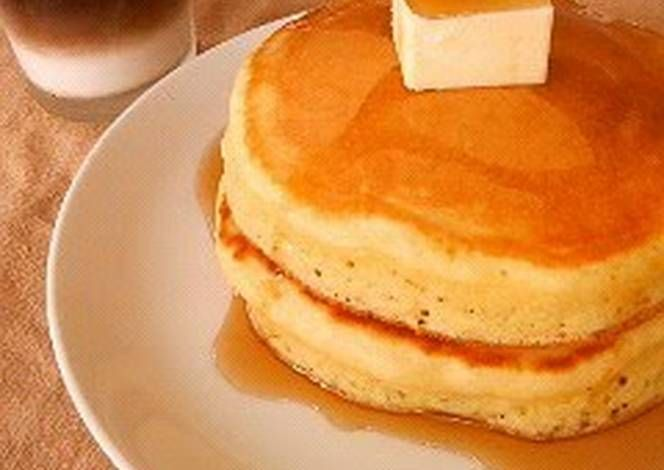 It Looks Like a Package Photo!? Thick Pancake Recipe -  Yummy this dish is very delicous. Let's make It Looks Like a Package Photo!? Thick Pancake in your home!