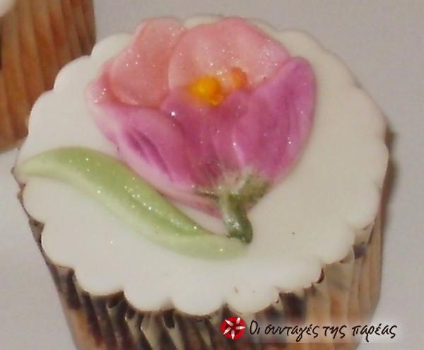 Λουλούδια από ζαχαρόπαστα #sintagespareas