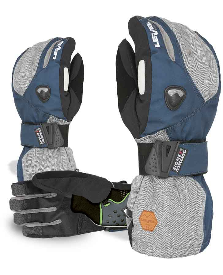 """FLY GLOVE. Thanks to the new fastener method, this glove can be used in every condition, with or without Biomex Protection System. The new material applied to Biomex """"shock absorbing"""" improves energy absorption capacity in case of impact."""