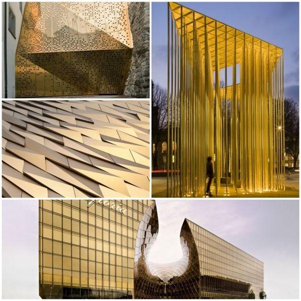 hausfassade fassadenelemente paneelen fassadenverkleidung metall