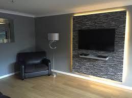 Bildergebnis für tv wand selber bauen laminat