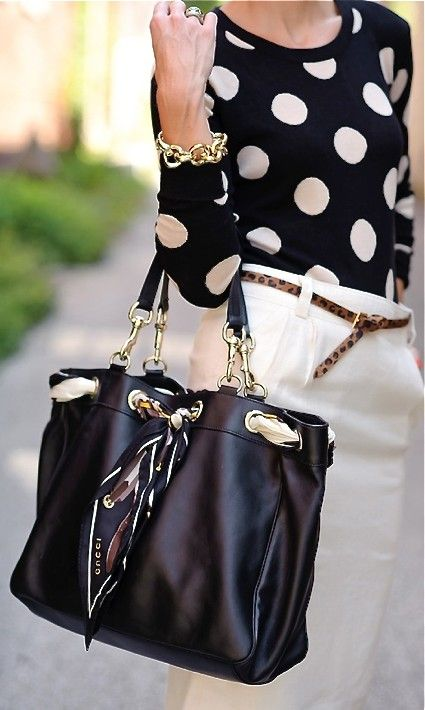 Gucci - Women's Bags. I love this in a different color, I would rock this forever. Love this Gucci bag #Gucci #Bags .