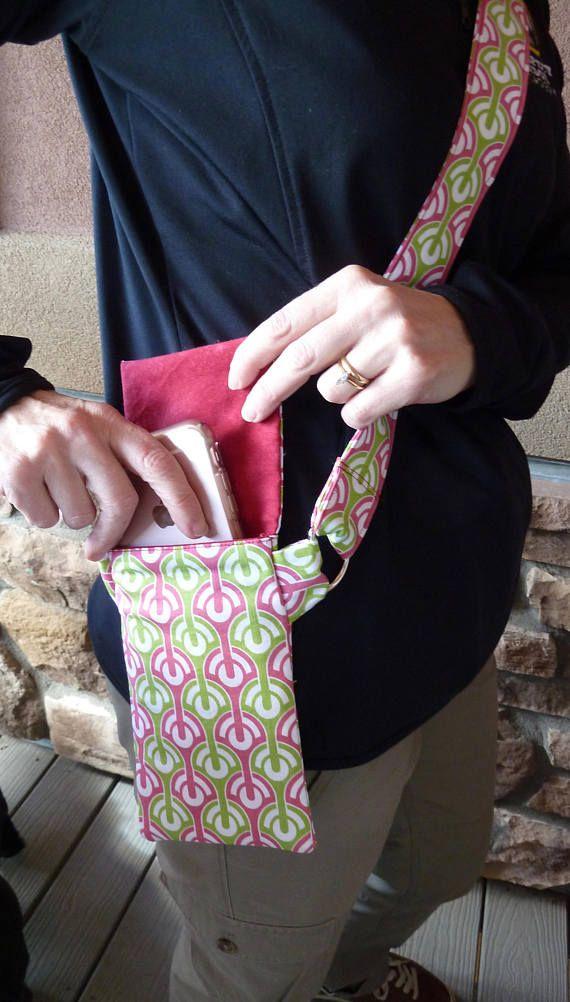 Cell Phone Purse Fabric Cell Phone Bag Cross Body Purse