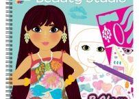 Girl Club - Carte activitati pt fetite - Beauty Studio | Bebeart