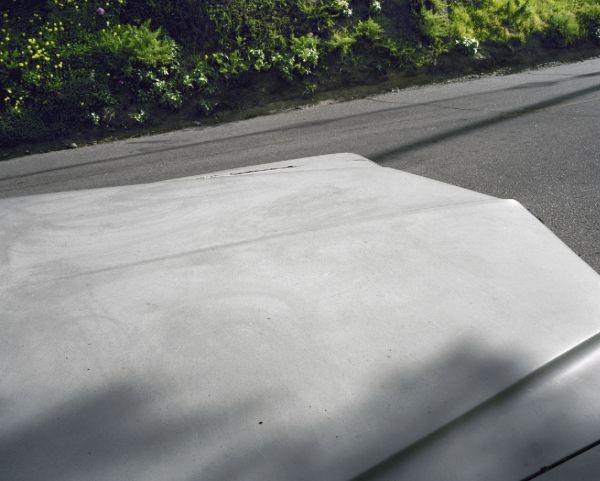 grey car top los angeles 2011 ©louis Heilbronn