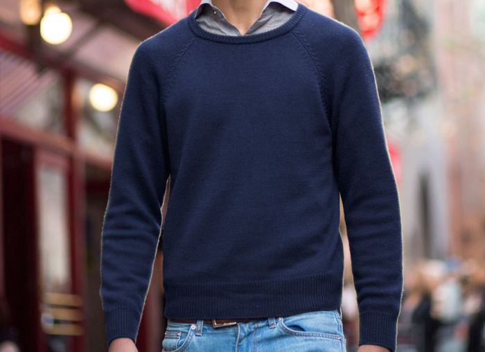 HILLFLINT -- The softest, best-fitting crewneck sweater you'll ever own. Made with over a pound of the most luxurious Merino wool in the world. $85.