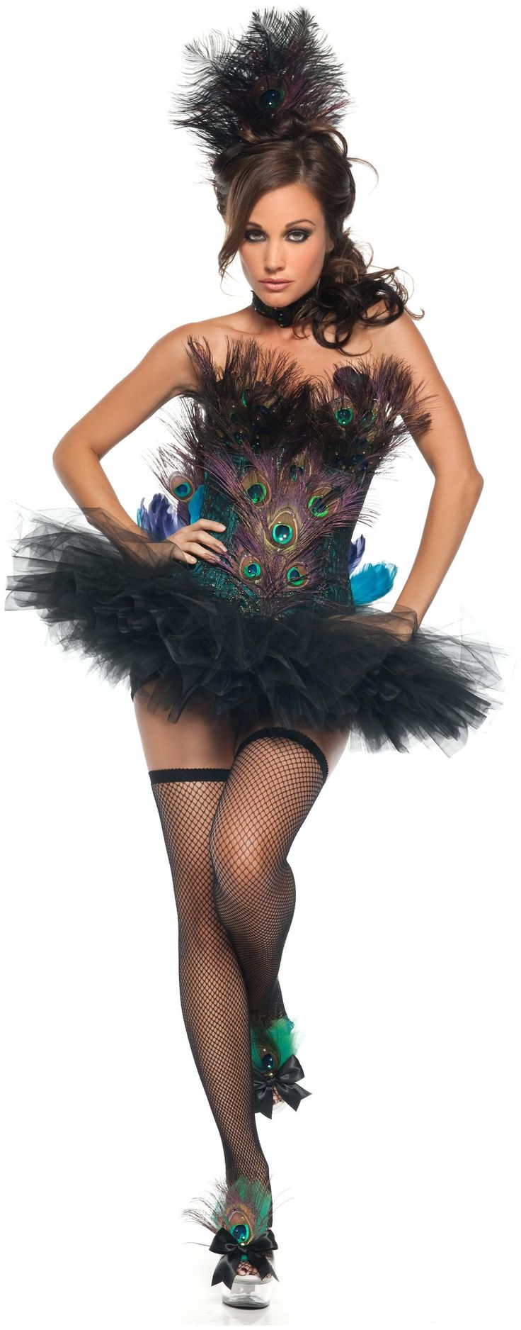 PartyBell.com - Sexy Peacock #AdultCostume