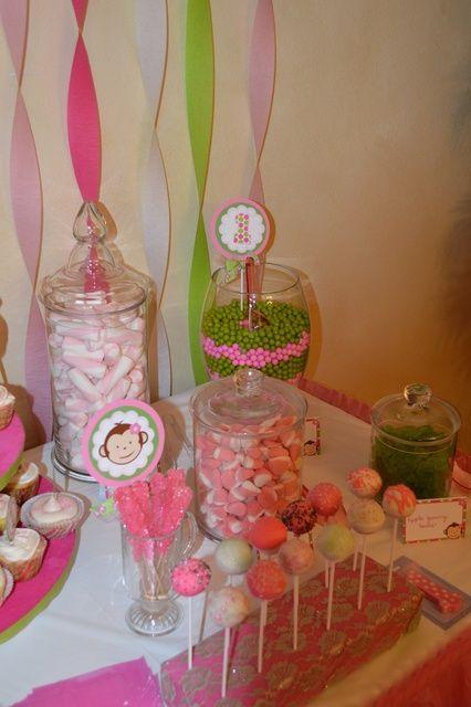 Mod Monkey Birthday Party Ideas | Photo 5 of 19 | Catch My Party
