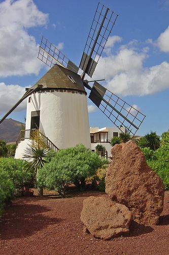 Molino Antigua, Fuerteventura, Canary Islands, Spain