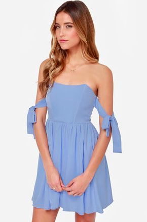 Cocktail dress under $50 real blue