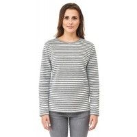 Camiseta rayas mujer algodón orgánico Living Crafts