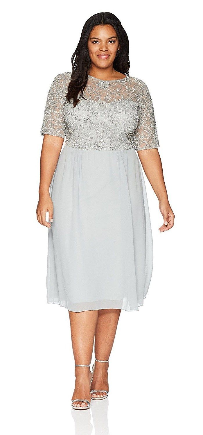 40 Plus Size Spring Wedding Guest Dresses With Sleeves Alexa Webb Wedding Guest Dress Summer Plus Size Wedding Guest Dresses Guest Dresses [ 1497 x 699 Pixel ]
