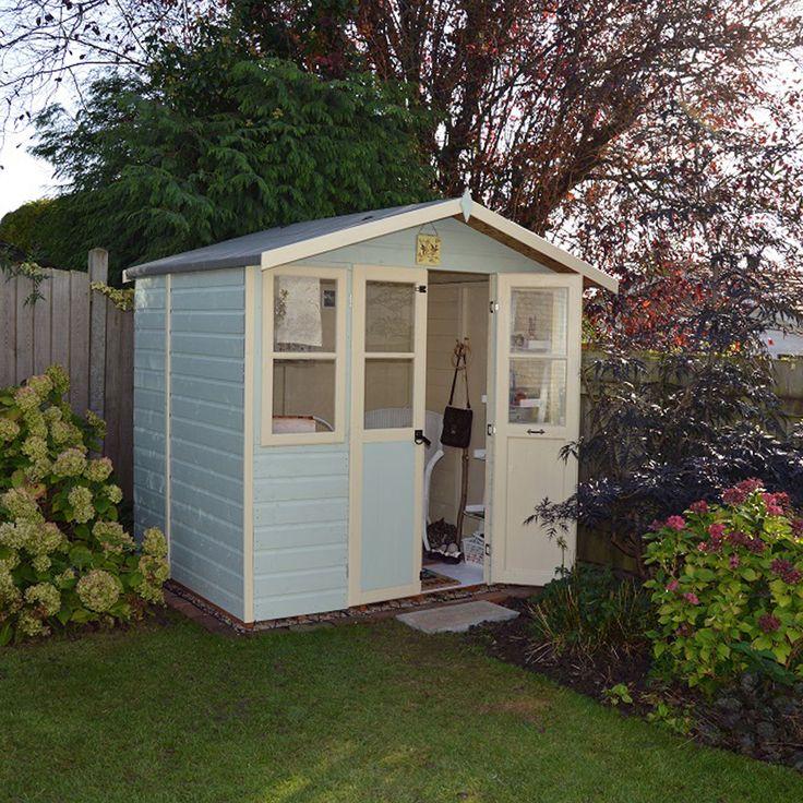 7X5 Haddon Shiplap Timber Summerhouse   Departments   DIY at B&Q