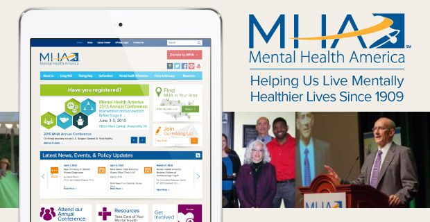 For the past 106 years, Mental Health America has been the nation's leading non-profit committed to reducing the stigma around mental illness and promoting open dialogues, with a particular focus on the LGBTQ community. ➔ http://www.datingadvice.com/for-men/mental-health-america-helping-us-live-mentally-healthier-lives-since-1909