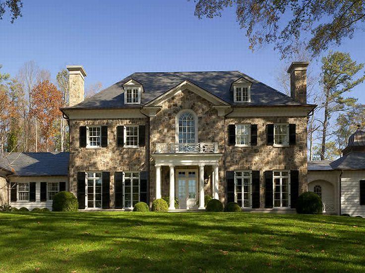 Beautiful traditional home! via normanaskins.com