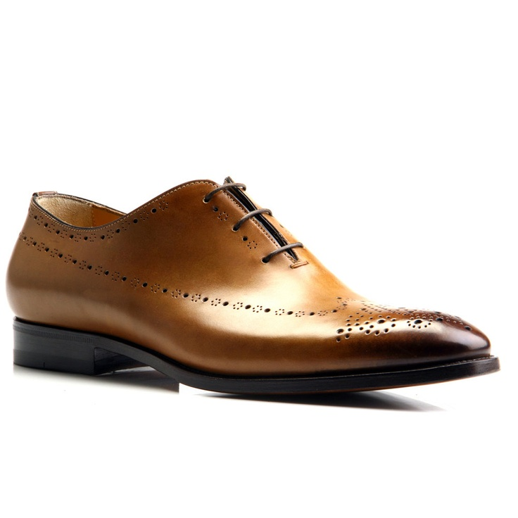 Santoni - Rayburn Perfectly Perforated Lace-up 50% off - now only $372.50