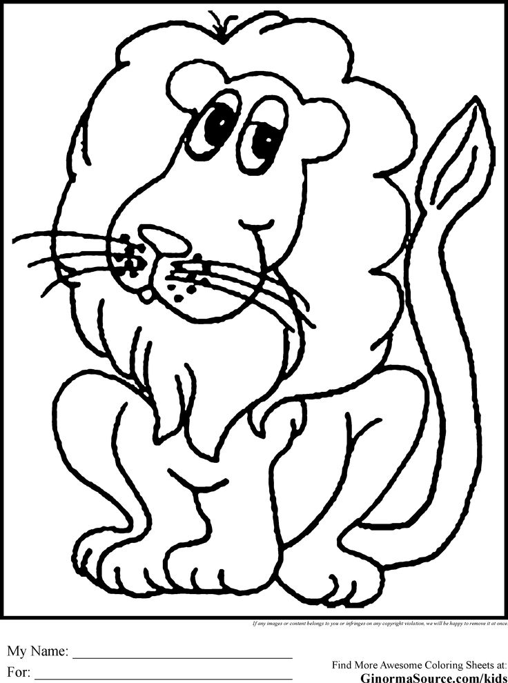 Coloring Pages Funny Animals : Funny animals coloring page pages of