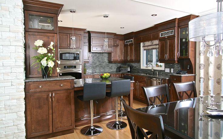 17 meilleures images propos de pour une maison sur pinterest coin de bureau armoires et - Cuisine intemporelle ...