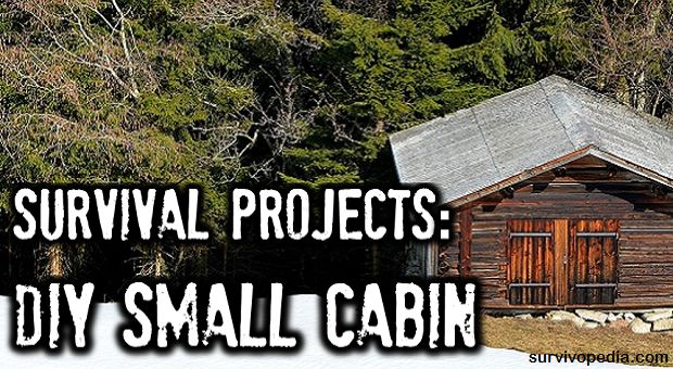 Survival projects diy small cabin by chris black for Small survival cabin