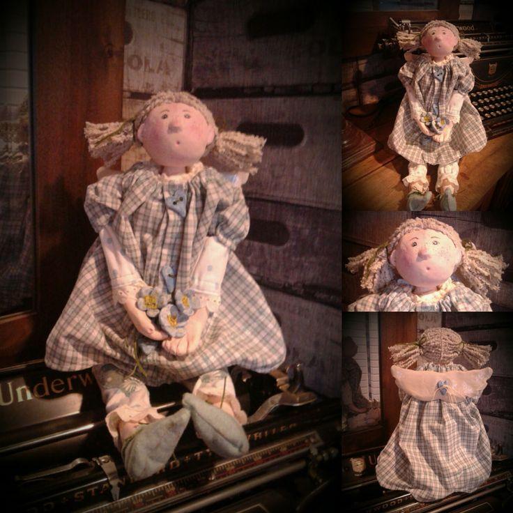 Handmade Angel Doll Daisy by Rustiikkitupa on Etsy
