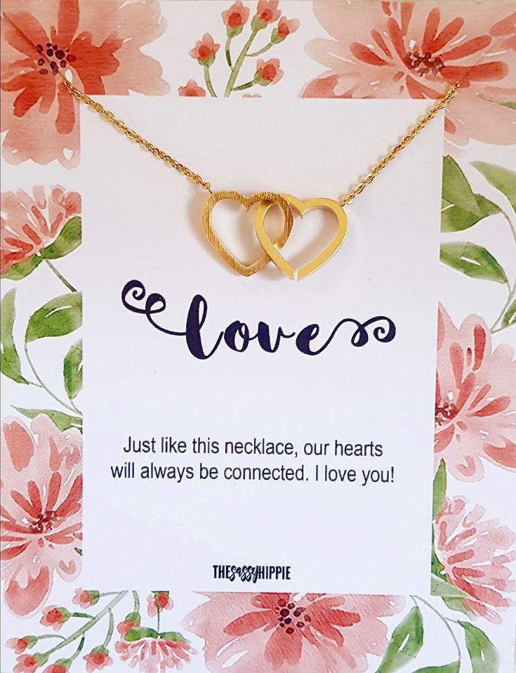 Love Double Heart Necklace