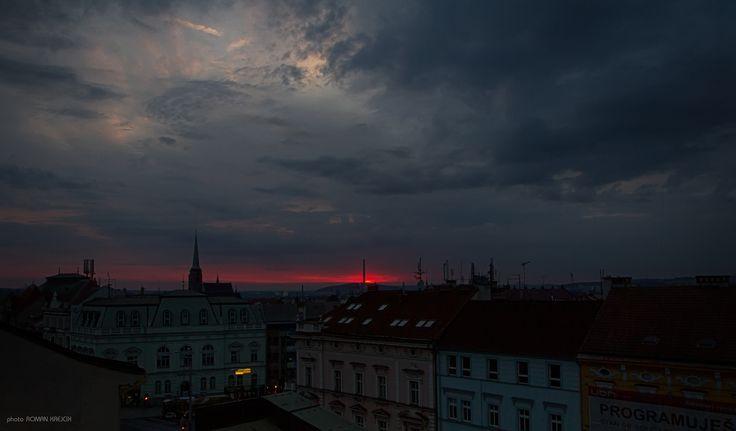 sunrise over Pilsen - null