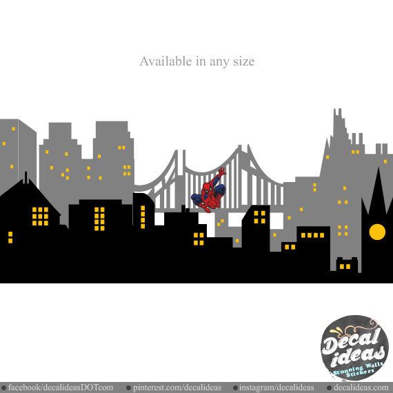 10 best City Skylines Wall Decals images on Pinterest ...