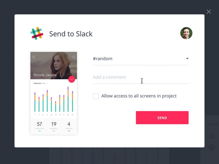 Send InVision screens to Slack by Andrew Cullen