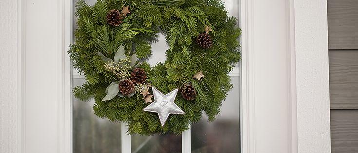 Starry Night Wreath - December 9th, Westcoastgardens.ca #surrey #bc #vancouver #whiterock