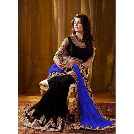 Buy Sargam fashion Beautyfull saree with blouse piece Online India - 2411233
